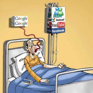 Sucht nach Sozialen Netzwerken