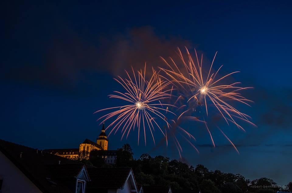 950 Jahre Siegburg Feuerwerk