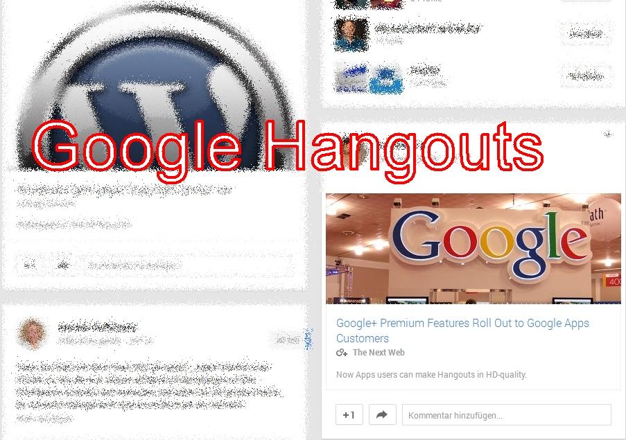 Hangouts Google