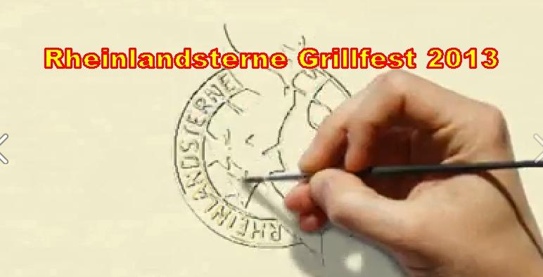 Rheinlandsterne Grillfest 2013