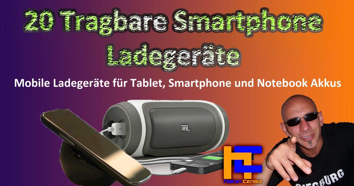 20 Tragbare Smartphone Ladegeräte