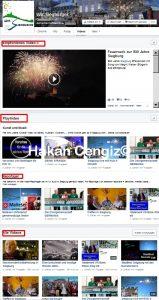 Facebook Video Playlist
