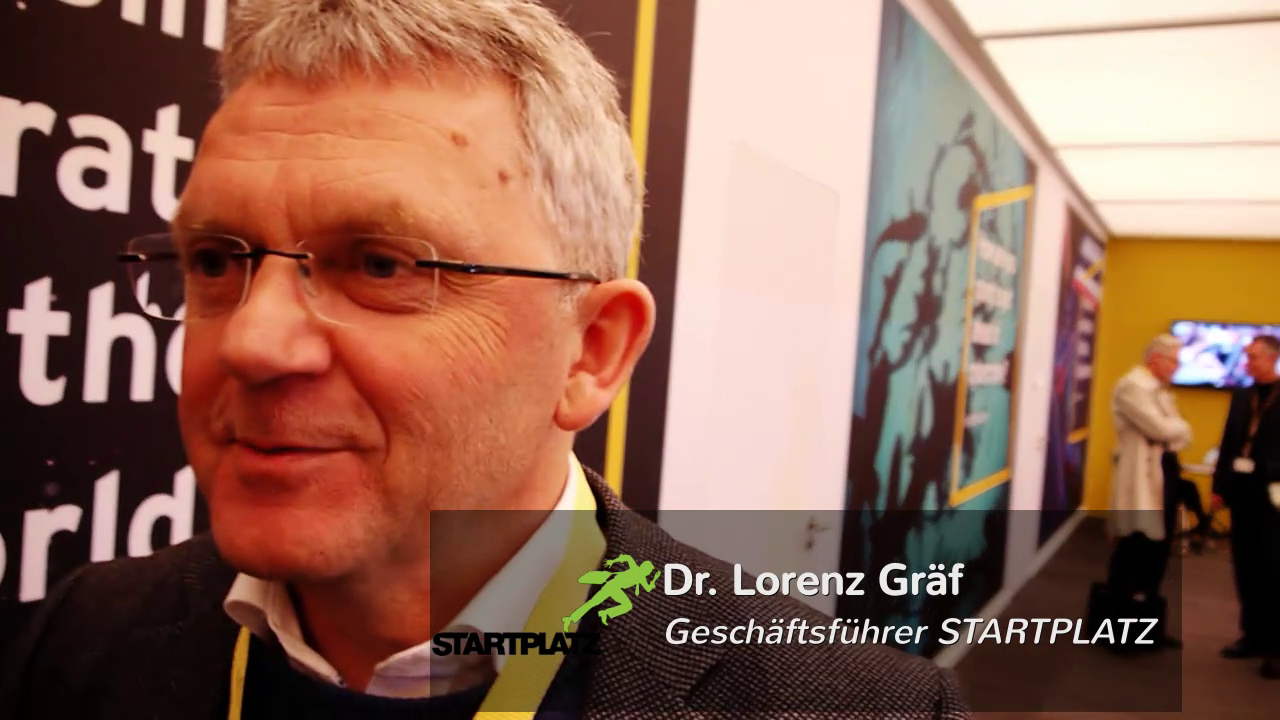 Dr. Lorenz Gräf STARTPLATZ in Köln cebit 2015