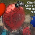 Kita-Streik Kölner Eltern - Demonstration von Neumarkt bis Roncalliplatz