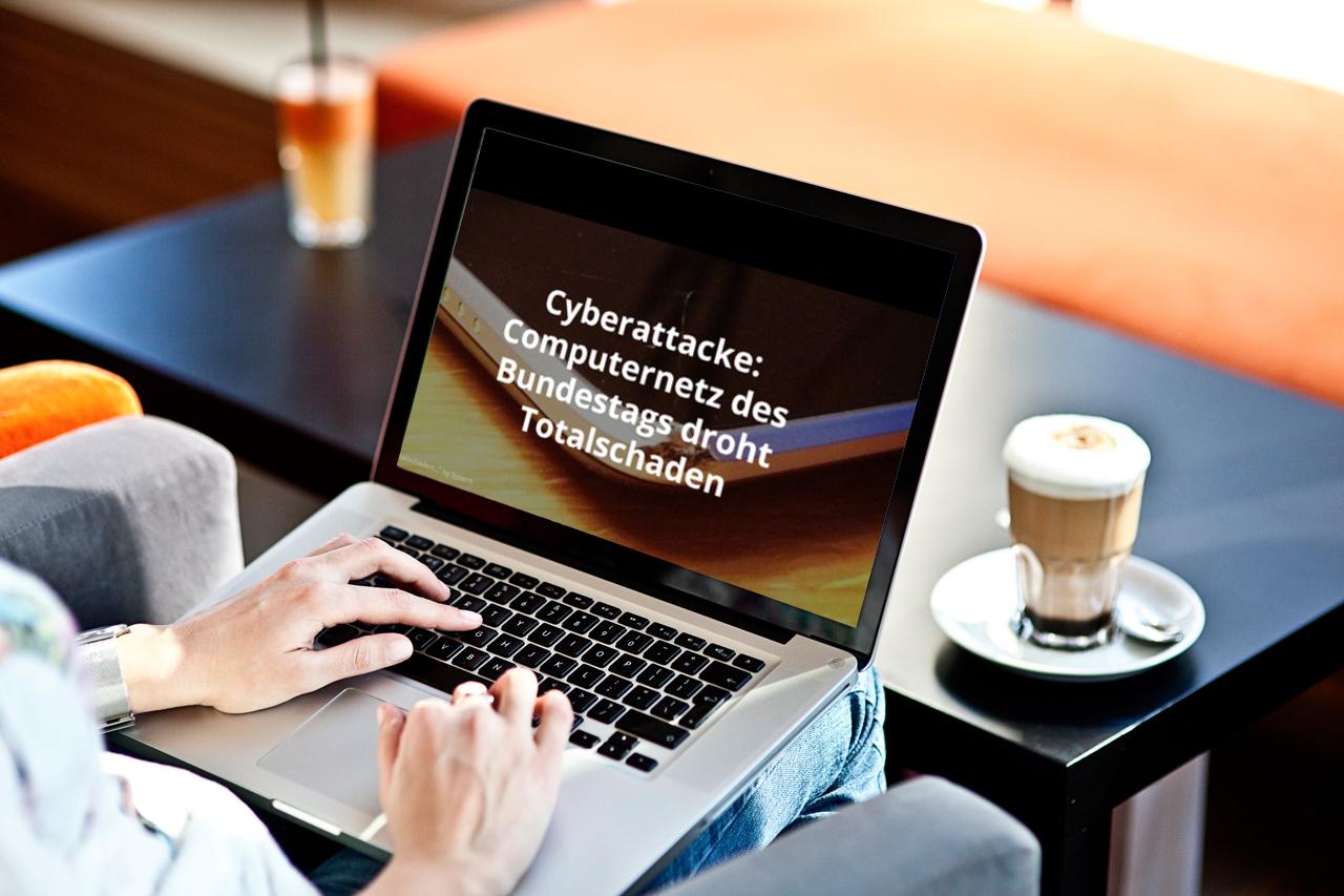 Cyberattacke: Computernetz des Bundestags droht Totalschaden