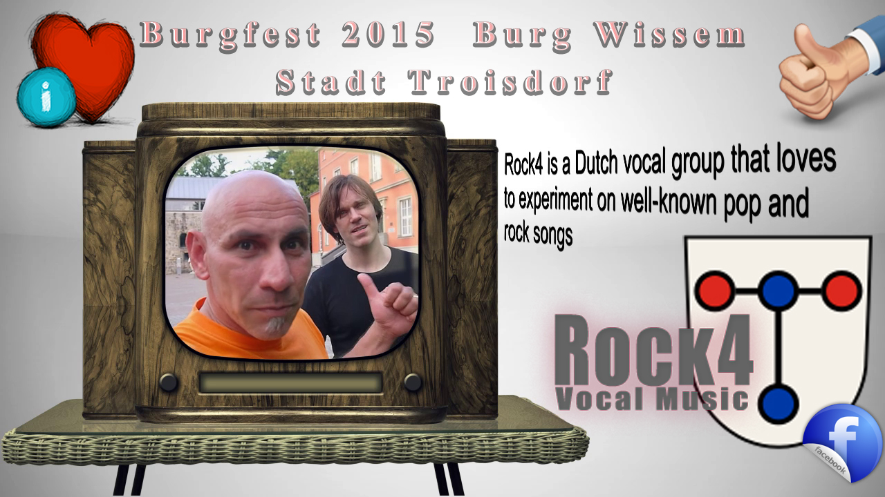 burgfest 2015 burg wissem stadt troisdorf mit rock4 hakan. Black Bedroom Furniture Sets. Home Design Ideas