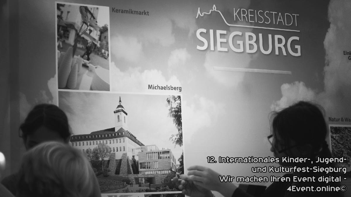 12. das Internationale Kinder-, Jugend- und Kulturfest in der City Siegburg.