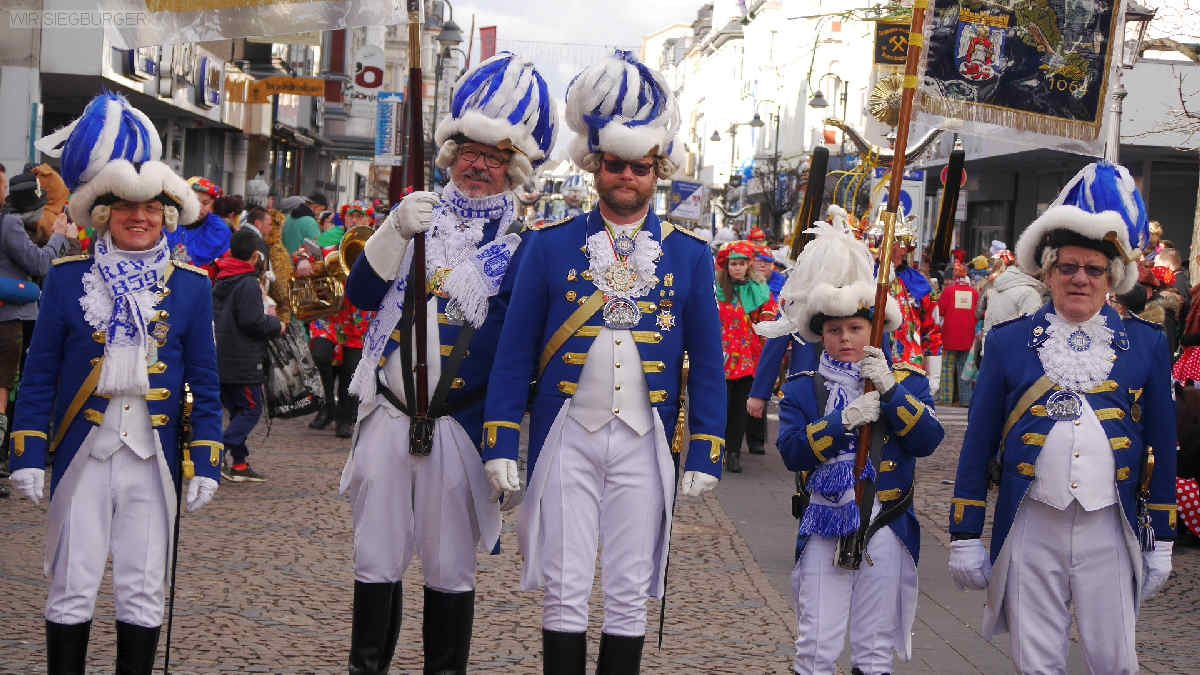 Siegburg Karnevalszug