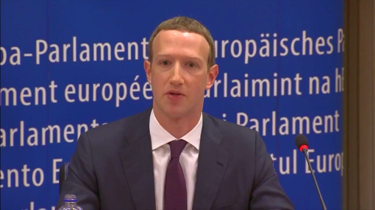 Mark Zuckerberg EU parliament