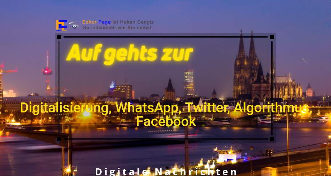 digitale -pioniere, Digitalisierung, WhatsApp, Twitter, Algorithmus, Facebook, Breitbandausbau