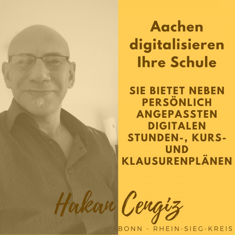 Aachen digitalisieren Ihre Schule in einem Informatik-Kurs