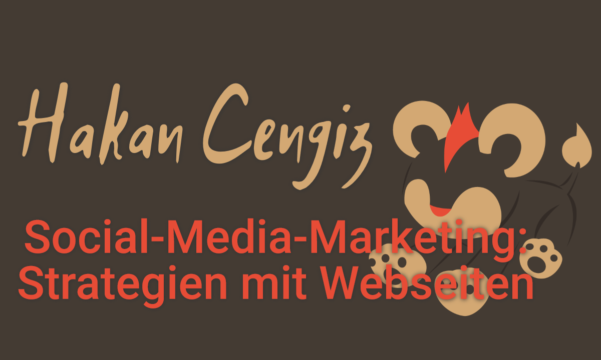 Social-Media-Marketing: Strategien mit Webseiten