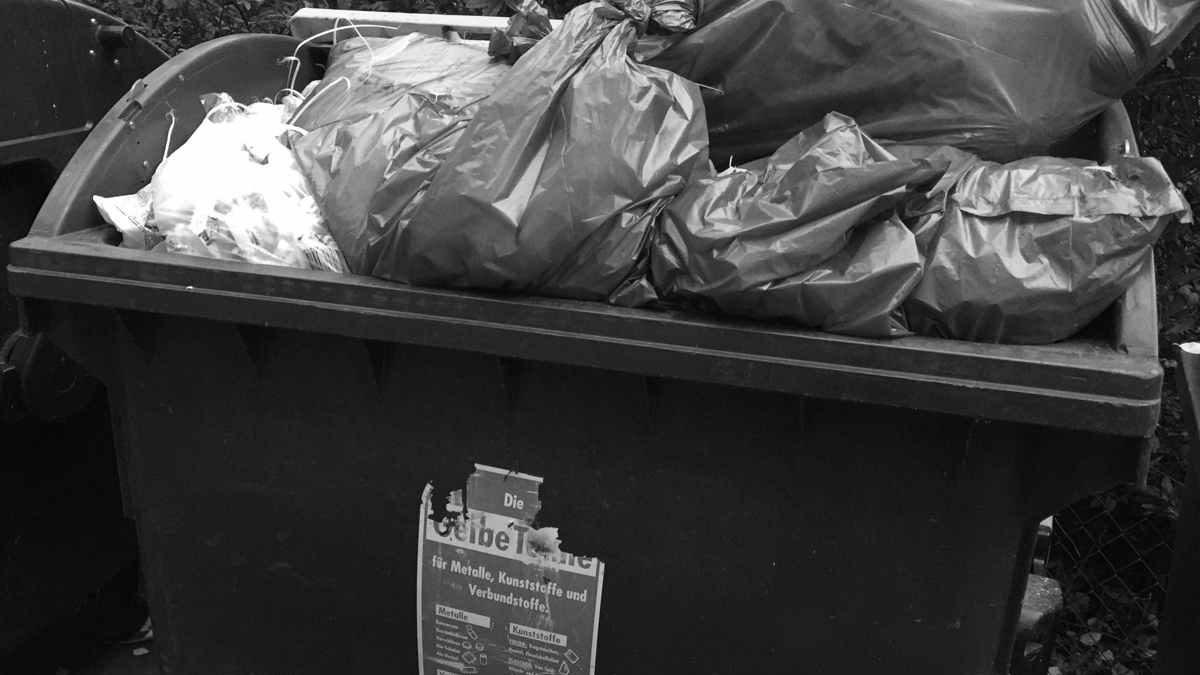 Wertstofftonne statt Gelber Sack: Neue Mülltonne soll das Chaos