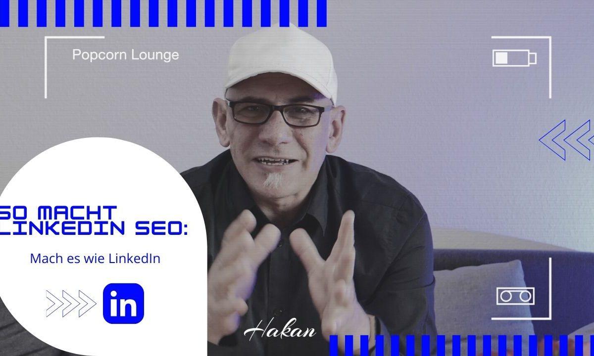 So macht LinkedIn SEO Mach es wie LinkedIn Popcor lounge YouTube-Miniaturansicht